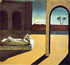 De Chirico, The Soothsayer's Recompense, 1913.