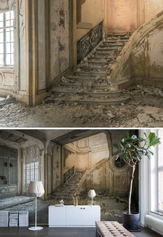 WALL MURAL   WALLPAPER   DISCOVER   CURIOUS   EXPLORE   EXPLORER   TORN-DOWN   TREASURE HUNT   SECRET PLACES   MYSTERIOUS SPACES   ODD   BEAUTIFUL   PHOTO WALL MURAL   TAKE A SECOND LOOK   LOOK CLOSER