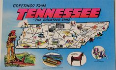 Tennessee (Nashville, Dollywood... yes I'm a Dolly fan ^_^)