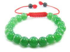 BB0847N Aventurine  Natural Crystal Gemstone Chinese Knot Bracelet - See more at: http://waggashop.com/wagga-shop-bb0847n-aventurine-natural-crystal-gemstone-chinese-knot-bracelet