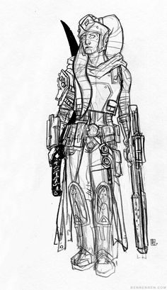 RPG-Character Concept: Star Wars, Twi'lek Bounty Hunter