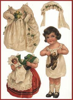 Ingrid Dressing Dolls