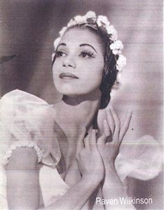 Raven Wilkinson, one of the first Black/African American ballerinas to join a major ballet company