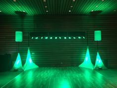 White skirts and speaker covers illuminated for a cool visual and dance floor atmosphere. Stage Lighting, White Skirts, Floor, Dance, Cool Stuff, Pavement, Dancing, Floors, Flooring