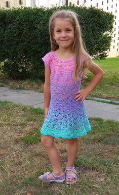 Šatičky z Duhovky Kids And Parenting, Lily Pulitzer, Crochet, Dresses, Clothing, Fashion, Artesanato, Crocheting, Gowns