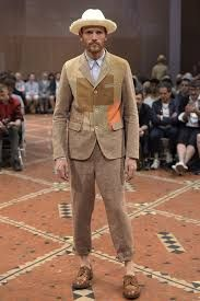 Image result for junya watanabe man 2016 Junya Watanabe, Spring Collection, Japanese Fashion, Spring 2016, Suit Jacket, Formal, Jackets, Image, Clowns
