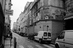 A forgotten part of Montmartre away from the hustle and bustle of tourists and street sellers
