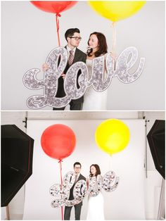 oversized wedding signage LOVE for your photo booth Bride and Chic   Modern Wedding Ideas By Leading UK Wedding Blog