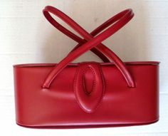 Stylemark by Mutterperl early 1950s red box purse.