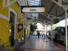 Leon station - El Transcantabrico - a luxury train in Spain, charter from Train Chartering - http://www.gucciwealth.com/leon-station-el-transcantabrico-a-luxury-train-in-spain-charter-from-train-chartering/