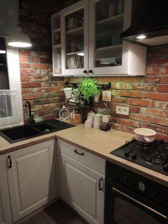 Apartment Kitchen, Home Decor Kitchen, Rustic Kitchen, New Kitchen, Home Kitchens, Modern Kitchen Design, Interior Design Kitchen, Minimalist Kitchen, Küchen Design