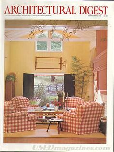 Architectural Digest September 1993