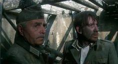 """ Cross of Iron Director: Sam Peckinpah "" Maximilian Schell, Cross Of Iron, Sam Peckinpah, David Warner, War Film, World War, Documentaries, In This Moment, Actors"