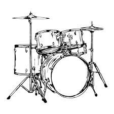 Drum Set With Logo Drawing Pinterest Drum Sets And Drums
