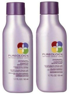 """Won 05-02-2013 (Entered 05-02-2013 [Instant Win]; Received 12-09-2013) = Pureology """"Love Your Haircolour Campaign"""" Instant Win Game (Pureology Hydrate) ~~~ PRIZE = Received mini bottles (1.7 fl.oz each) of Pureology Hydrate w/ Anti-fade Complex Shampoo and Conditioner., ARV: $15.00."""