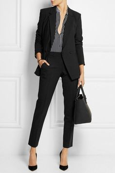 Most recent Screen Business Outfit blazer Tips, Trajes Business Casual, Business Casual Outfits, Office Outfits, Office Attire, Office Wear, Stylish Outfits, Office Uniform, Preppy Outfits, Classy Outfits