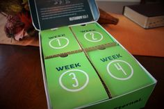 4 weeks of family fun all in one box delivered to your doorstep! #easyfuneternal