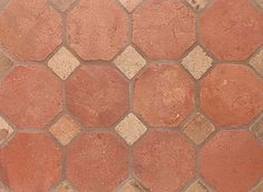 Atog Dark Antiqued 5 7/8x5 7/8 Octagon Terracotta Mosaic