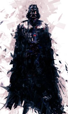 Star Wars - Darth Vader by Billy Sagulo Star Wars Darth, Star Trek, Geeks, Chat Origami, Anakin Vader, Anakin Skywalker, Darth Maul, Thor Y Loki, Estilo Geek