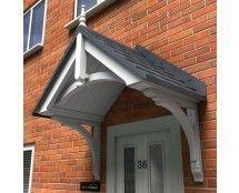 awning for front door | epsom door canopy | home | pinterest