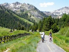 Taking a Family Bike Ride is a great way to get exercise as a family!