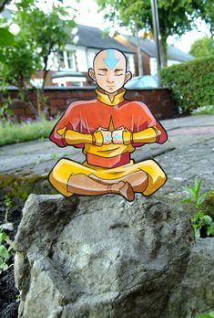 Aang paperchild by *tavington on deviantART