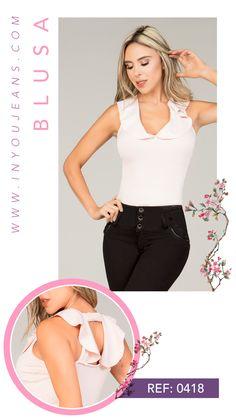 Las blusas nos diferencian por nuestra calidad y diseños. Conoce más de estos hermosos diseños con la marca número uno en Colombia. Athletic Wear, Feminine Fashion, Women