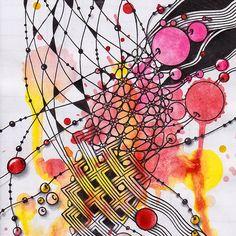 Прикосновение к Миру Творчества...: Zentangle | Beads of Courage