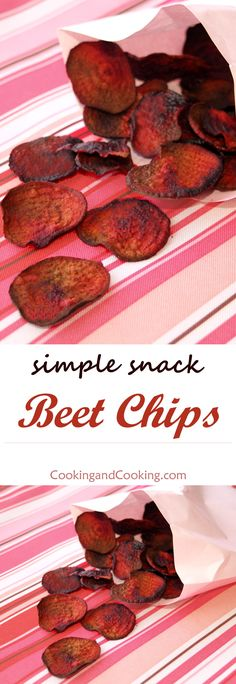 Beet Chips / these are pretty good