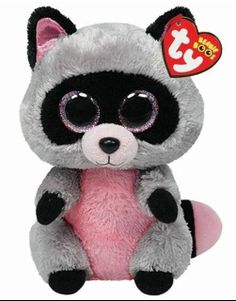 Ty Rocco the Raccoon Beanie Boos Stuffed Plush Toy