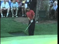 """Tiger Woods and """"The Chip"""" @ The Masters"""