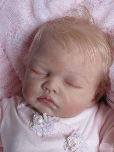 REBORN DOLL BABY GIRL by ROMIE STRYDOM: