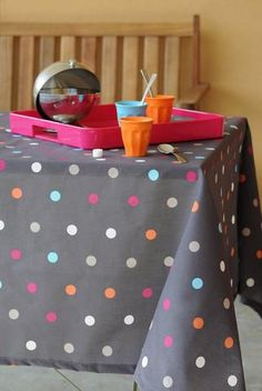 Tablecloth Rondy gray square for kitchen, living or summer garden tables. Interiors Online, Interior Decorating, Interior Design, Grey, Summer Garden, Products, Oilcloth, Tablecloths, Kitchens