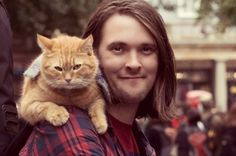 James Bowen and Bob are rasing funds to open a cat cafe in London.