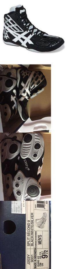 Footwear 79799: Men S Asics J203y Split Second 9 Size 9 1 2 Nib Black White Silver -> BUY IT NOW ONLY: $42 on eBay!