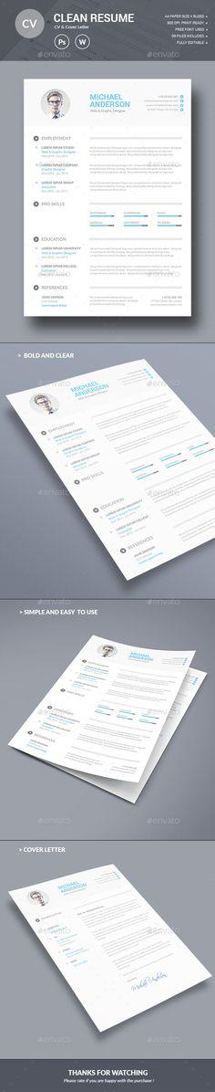 Resume Template PSD. Download here: http://graphicriver.net/item/resume/14910767?ref=ksioks