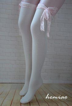 White Thigh High Socks, Long White Socks, Knee High Socks Outfit, High Socks Outfits, White Knee High Socks, Cute Outfits, Lace Boot Socks, Heel Boots, Girls Leg Warmers