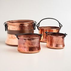 One of my favorite discoveries at WorldMarket.com: Copper Turkish Pot Decor
