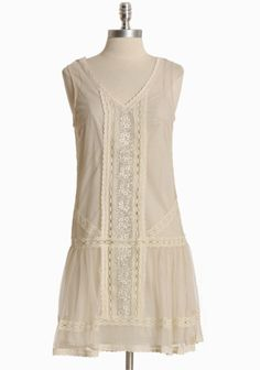 good for a hot day. Dulcie Cotton Mesh Dress By BB Dakota