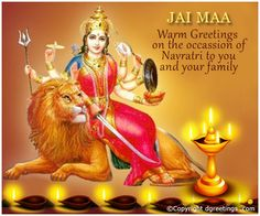 Dgreetings - Navratri Wishes Cards