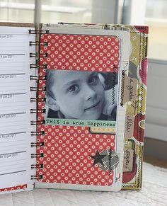 art journal daily planner......cool!