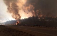 A former NDP candidate is under fire for a tweet he made suggesting the Fort McMurray wildfire was karma.
