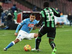 Serie A il Napoli nel posticipo ospita il Sassuolo