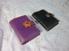 レザーカードケース Leather card cases (hand stitched)