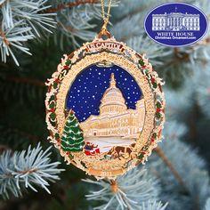 White House Ornament   2011 U.