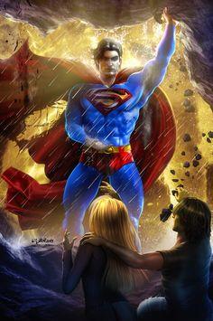 Resultado de imagen para superman art
