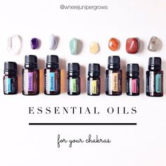 What's the EASIEST way to use Essential Oils for personal development, spiritual growth, and self healing? Assign one Essential Oil that resonates with YOU, to each of your chakras! :) Here, …