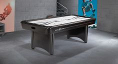 The hottest look in Air Hockey® since Brunswick invented the game more than 30 years ago, the V-Force table rocks with state-of-the-art elec...