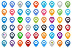 Icons Social Media Group Color Editorial Image - Illustration of gmail, viber: 130074060 Linux, Vector Logos, Video Editing Apps, Tumblr Love, Social Icons, Photoshop Illustrator, Logo Google, Icon Font, Free Illustrations