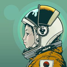 Chiaki is my favourite astronaut!    mukai by philipjbond, via Flickr